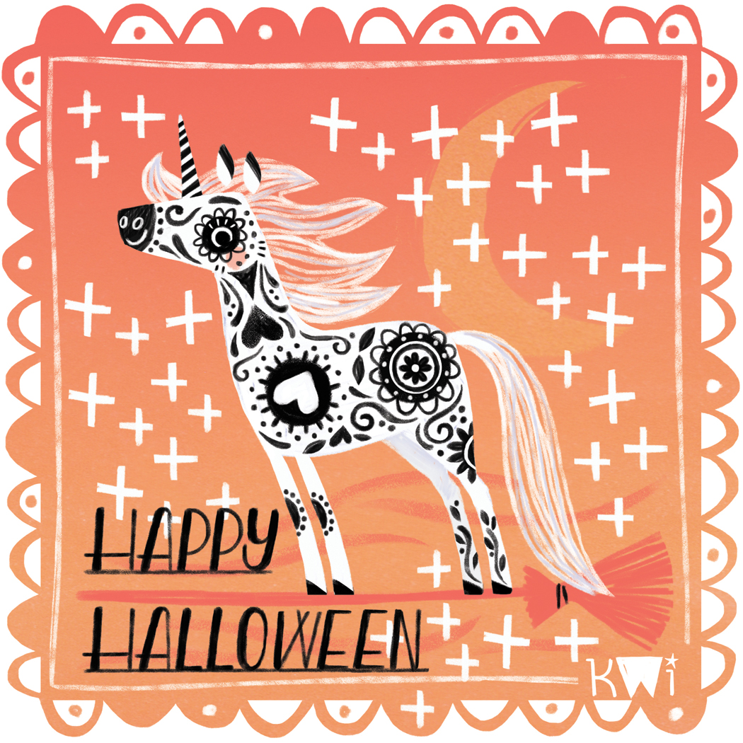 Unicorn Day of the Dead